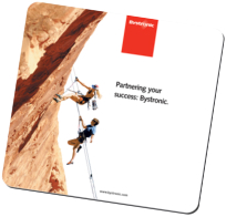 soft top mouse pad -rock climbers