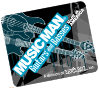 hard top mouse pad -MusicMan